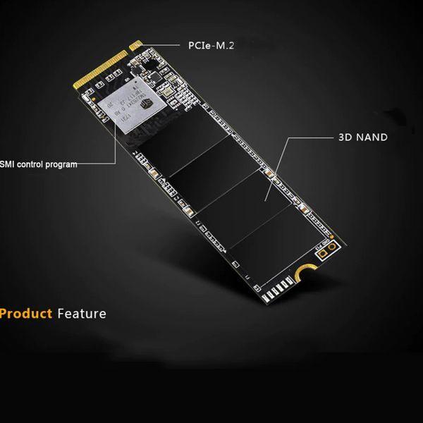 ★新品!!最安値★Reeinno SSD M.2 NVMe PCI-E 240GB 3D 高速 NAND TLC 内蔵型 Mace2000-960 デスクトップ ノートパソコン DE041_画像3