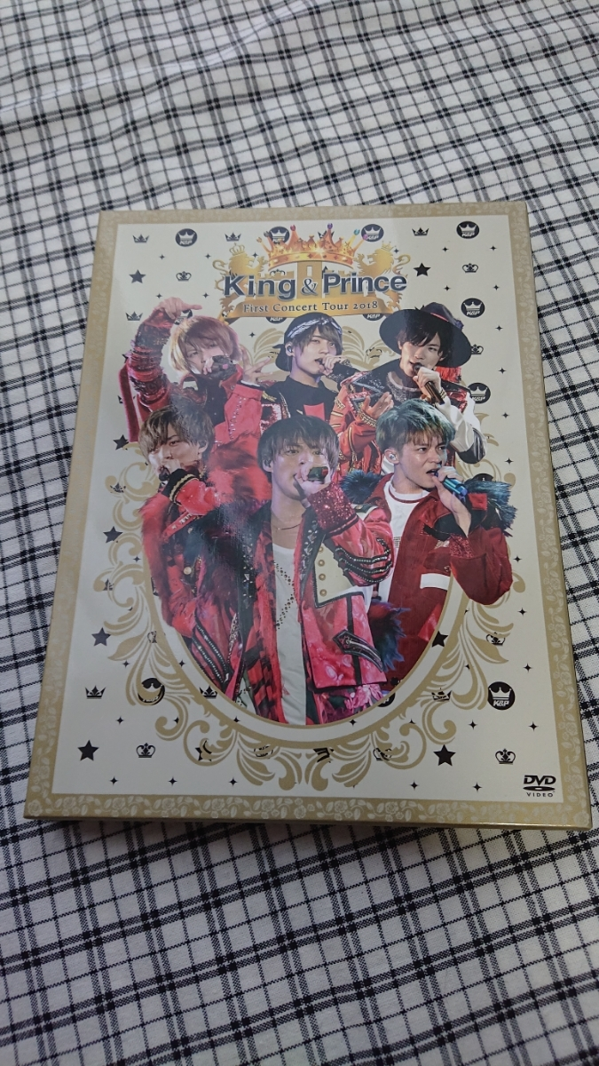 King & Prince/First Concert Tour 2018 初回限定盤 キンプリ