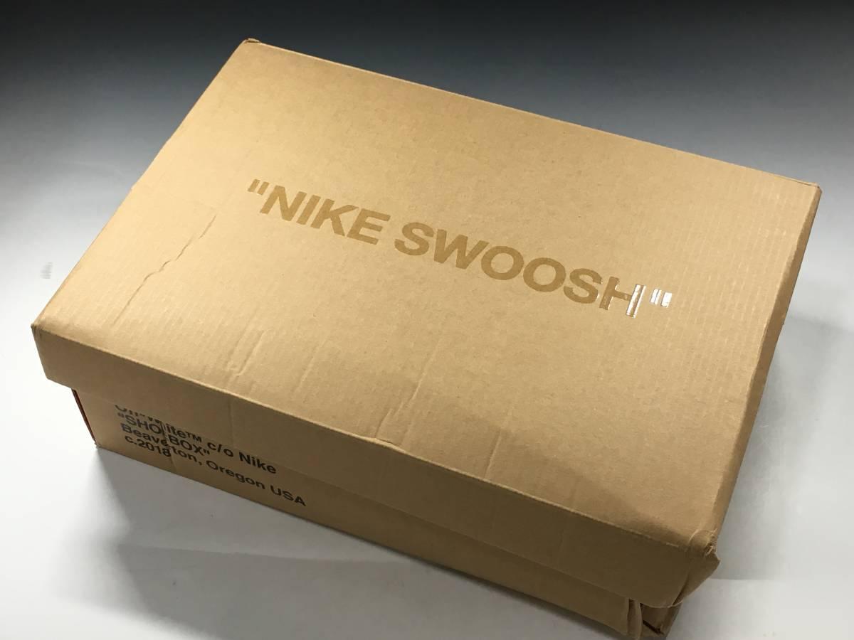 【新品】The Ten Off White x Nike Air Max 97 オフホワイト エアマックス スニーカー 27.5㎝_画像9