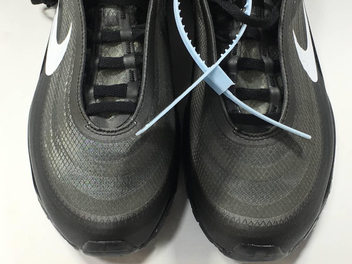 【新品】The Ten Off White x Nike Air Max 97 オフホワイト エアマックス スニーカー 27.5㎝_画像6