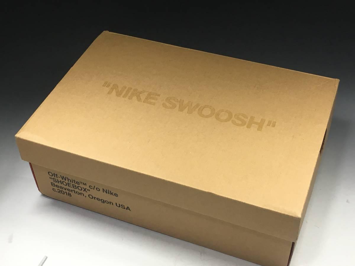 【新品】Off White x Nike Air Max 97 オフホワイト エアマックス スニーカー 26.5㎝ 希少 コラボ_画像9