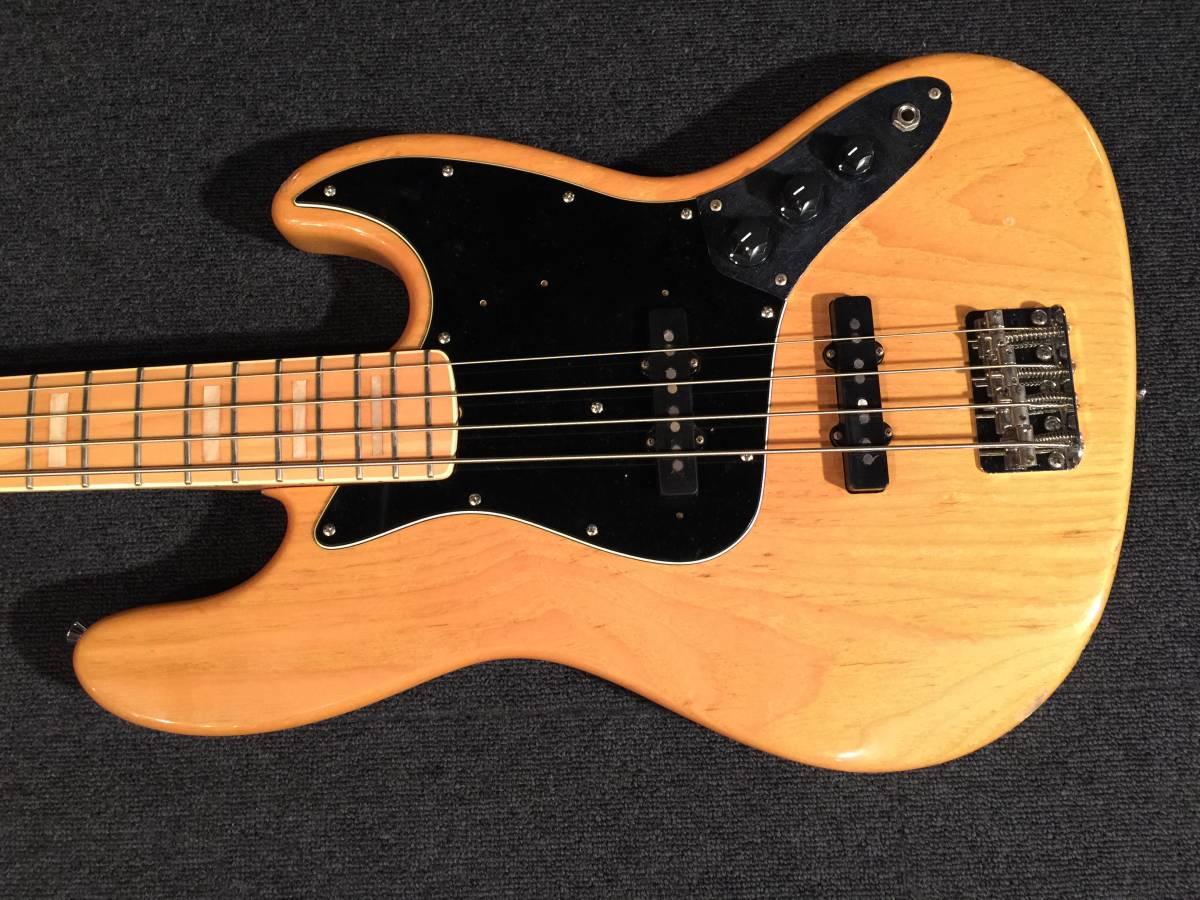 Fender Japan JB75-90US NAT/M No.063319 MADE IN JAPAN アッシュ!!_画像2