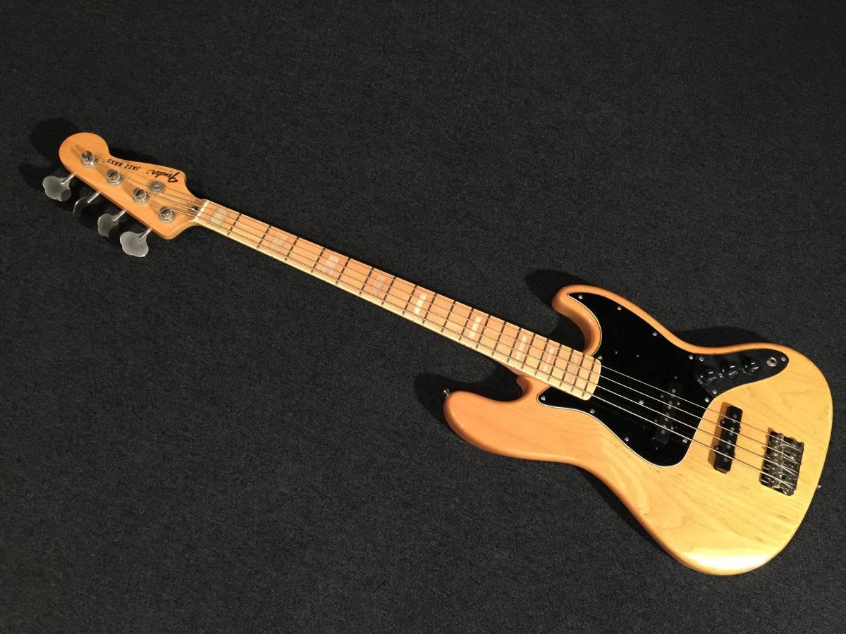 Fender Japan JB75-90US NAT/M No.063319 MADE IN JAPAN アッシュ!!_画像1