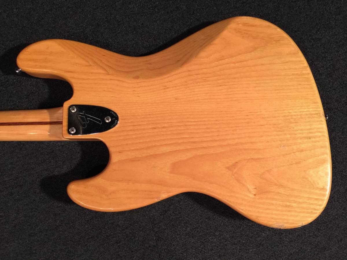 Fender Japan JB75-90US NAT/M No.063319 MADE IN JAPAN アッシュ!!_画像4