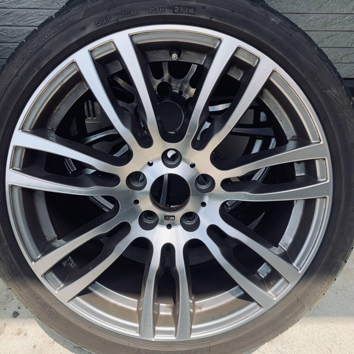 BMW 純正 オプション 19インチ スタースポーク スタイリング403M Mスポーツ PCD:120 F: 8.0J +36 R: 8.5J +47 F30 F31 3シリーズ_画像6