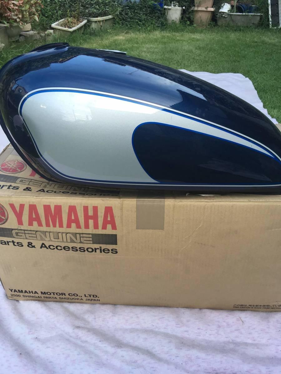 ●○ヤマハ YAMAHA SR400 2003年式 3HTF 純正タンク サムソンブルー ○●