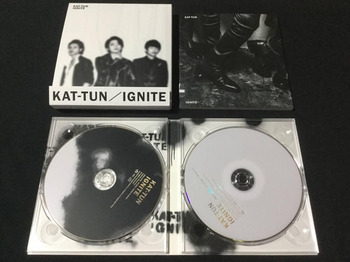 KAT-TUN IGNITE 初回限定盤 1 (CD+DVD) 美品_画像2