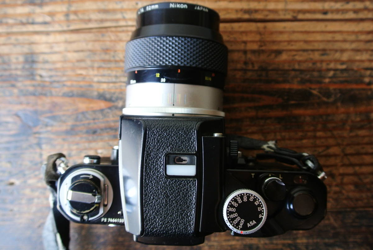NIKON/ニコン フィルム一眼レフカメラ F2 7464133 Micro-NIKKOR-P 1:3.5 f=55mm レンズ 検】カメラ レトロ 光学 camera 写真 _画像9