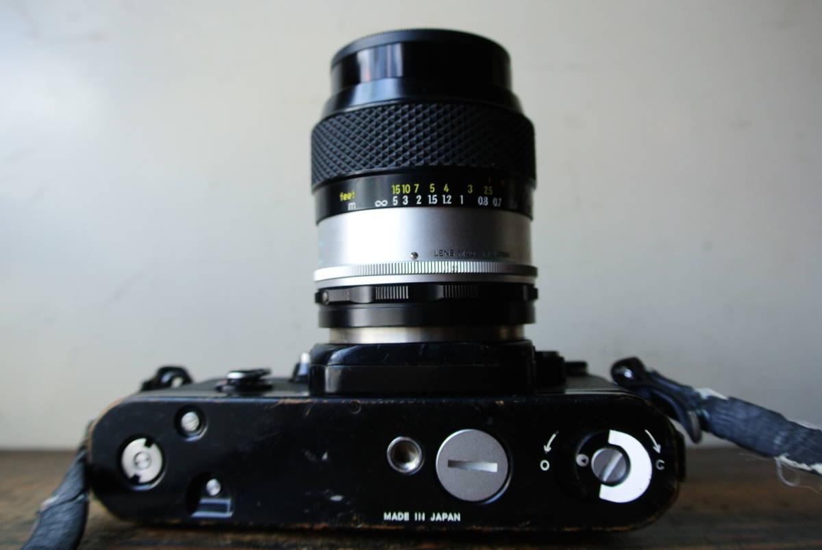 NIKON/ニコン フィルム一眼レフカメラ F2 7464133 Micro-NIKKOR-P 1:3.5 f=55mm レンズ 検】カメラ レトロ 光学 camera 写真 _画像10