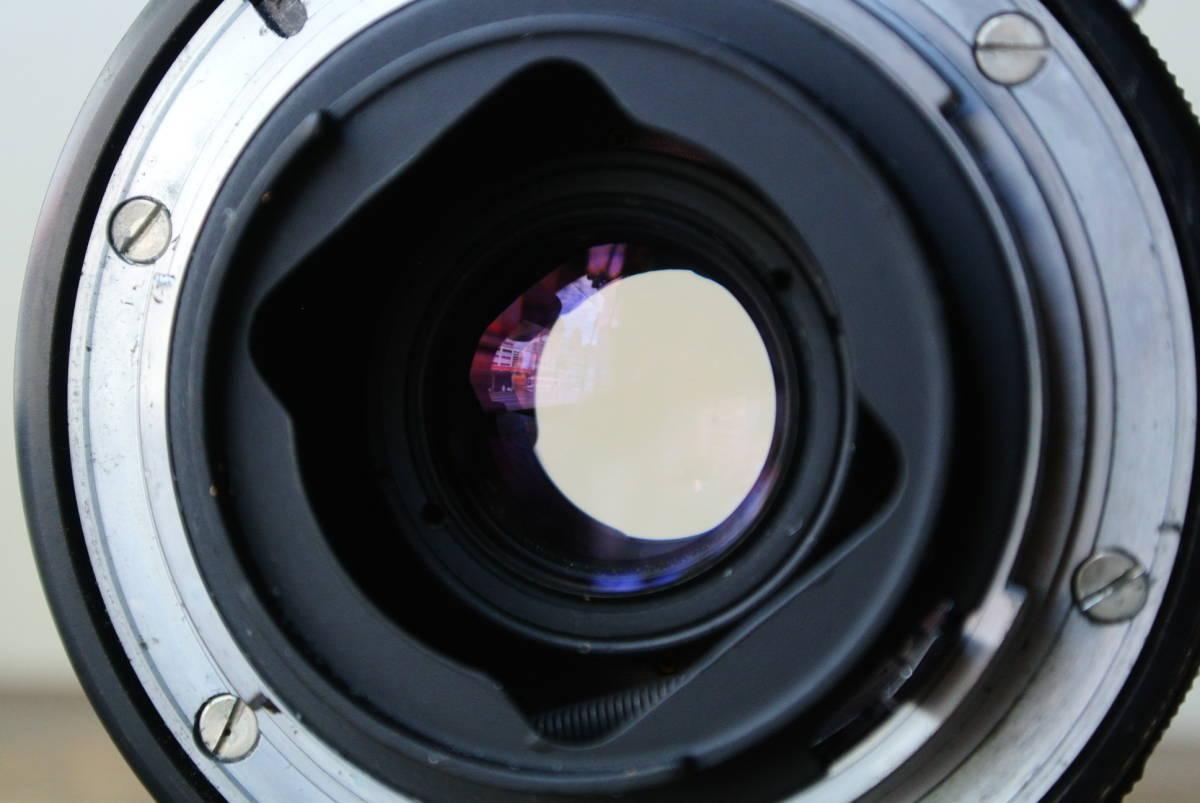 NIKON/ニコン フィルム一眼レフカメラ F2 7464133 Micro-NIKKOR-P 1:3.5 f=55mm レンズ 検】カメラ レトロ 光学 camera 写真 _画像4