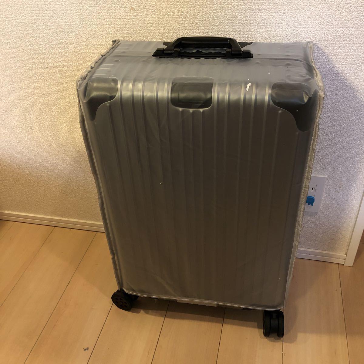 スーツケース アルミマグネシウム合金 キャリーバッグ 360度回転 静音キャスター TSAロック フレームタイプ 保護カバー付 軽量 新品未使用_画像7