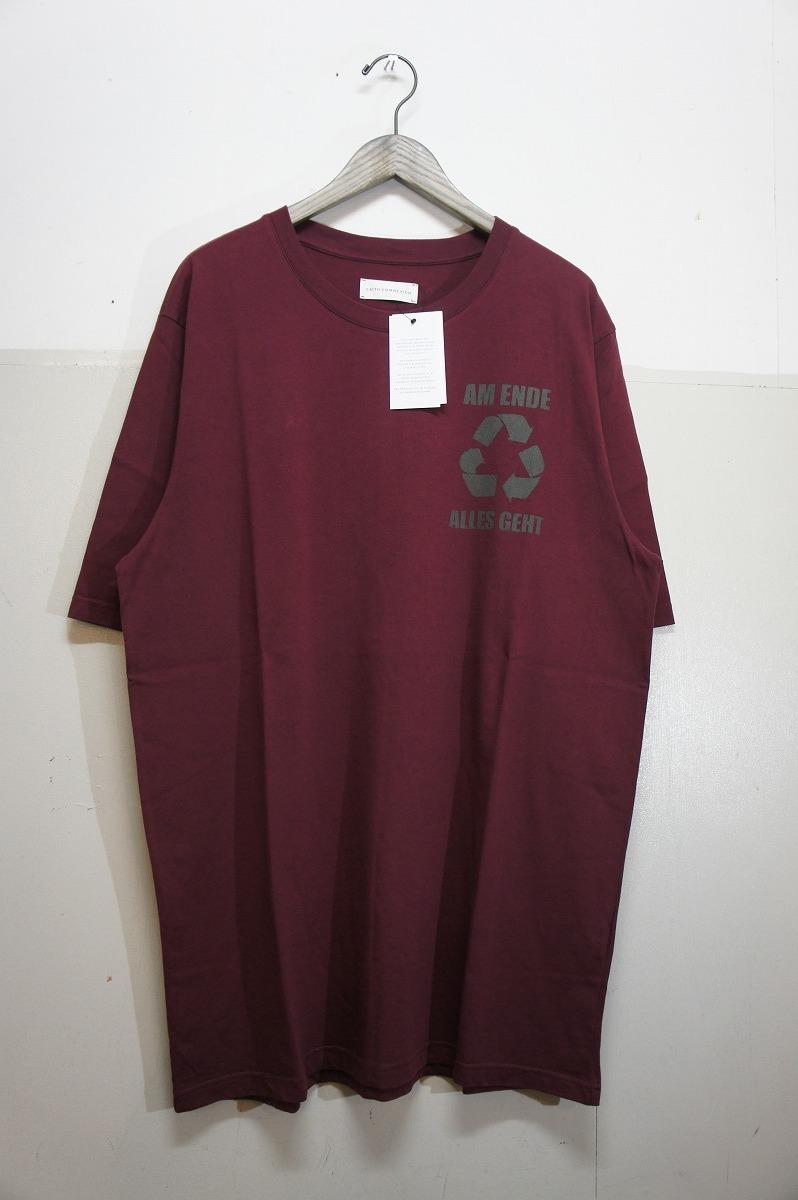 正規19SS FAITH CONNEXIONフェイスコネクション オーバーサイズ Tシャツ 半袖カットソー X3711JOPR30 エンジ819J_画像1
