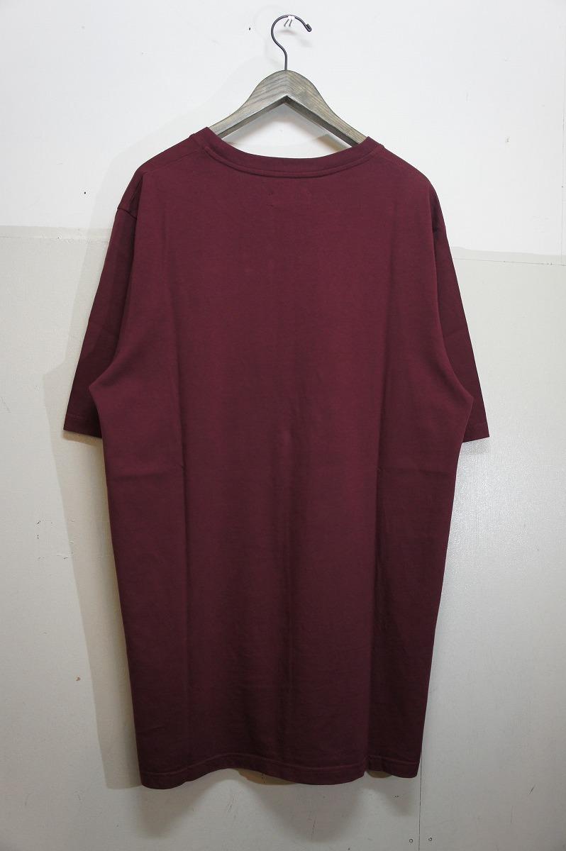 正規19SS FAITH CONNEXIONフェイスコネクション オーバーサイズ Tシャツ 半袖カットソー X3711JOPR30 エンジ819J_画像2
