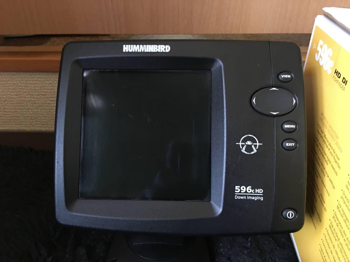 HUMMINBIRDハミンバード 596HD 日本語バージョン_画像2