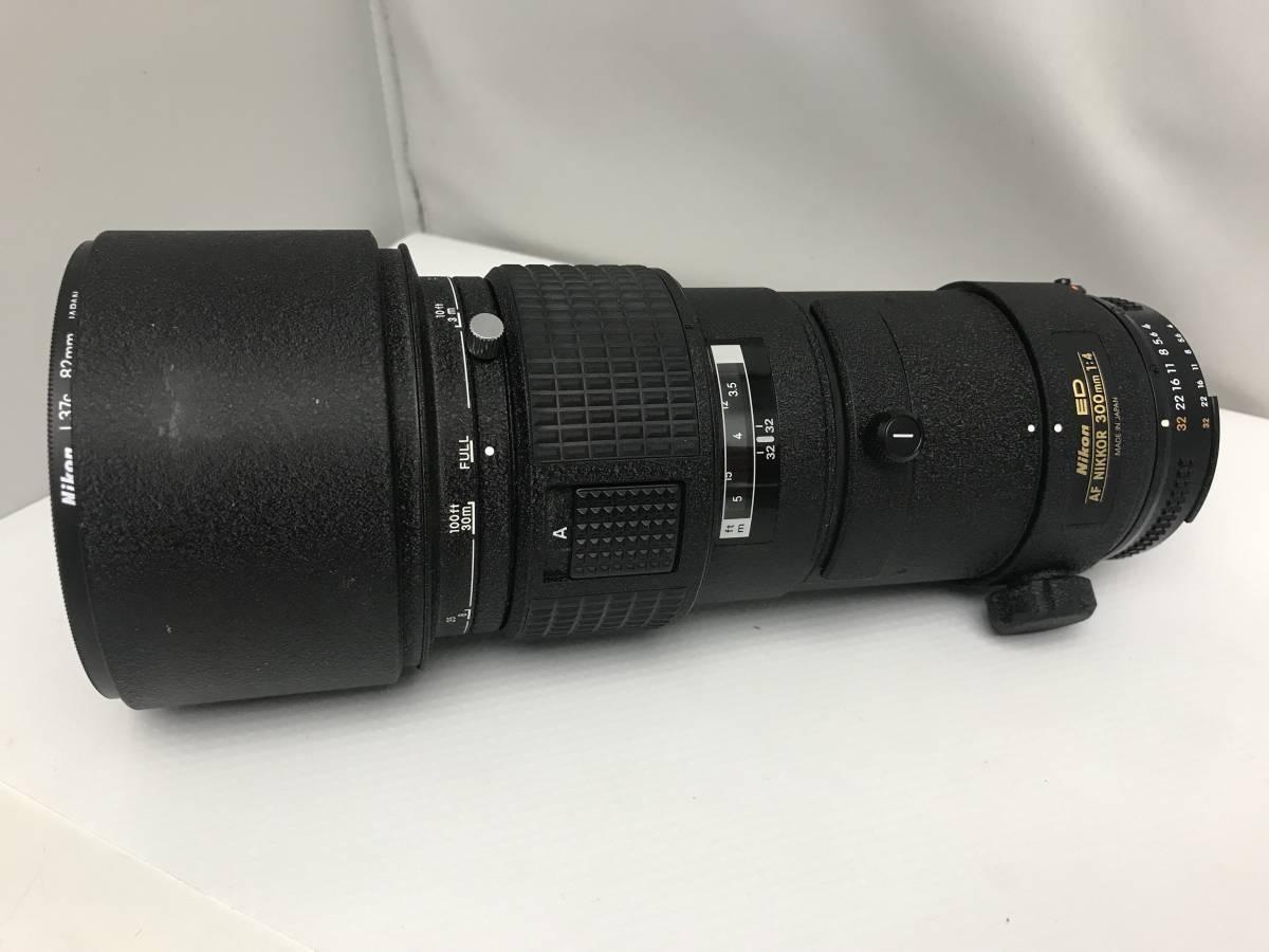 ジャンク Nikon ニコン ED AF NIKKOR 300mm 1:4  一眼レフカメラ用