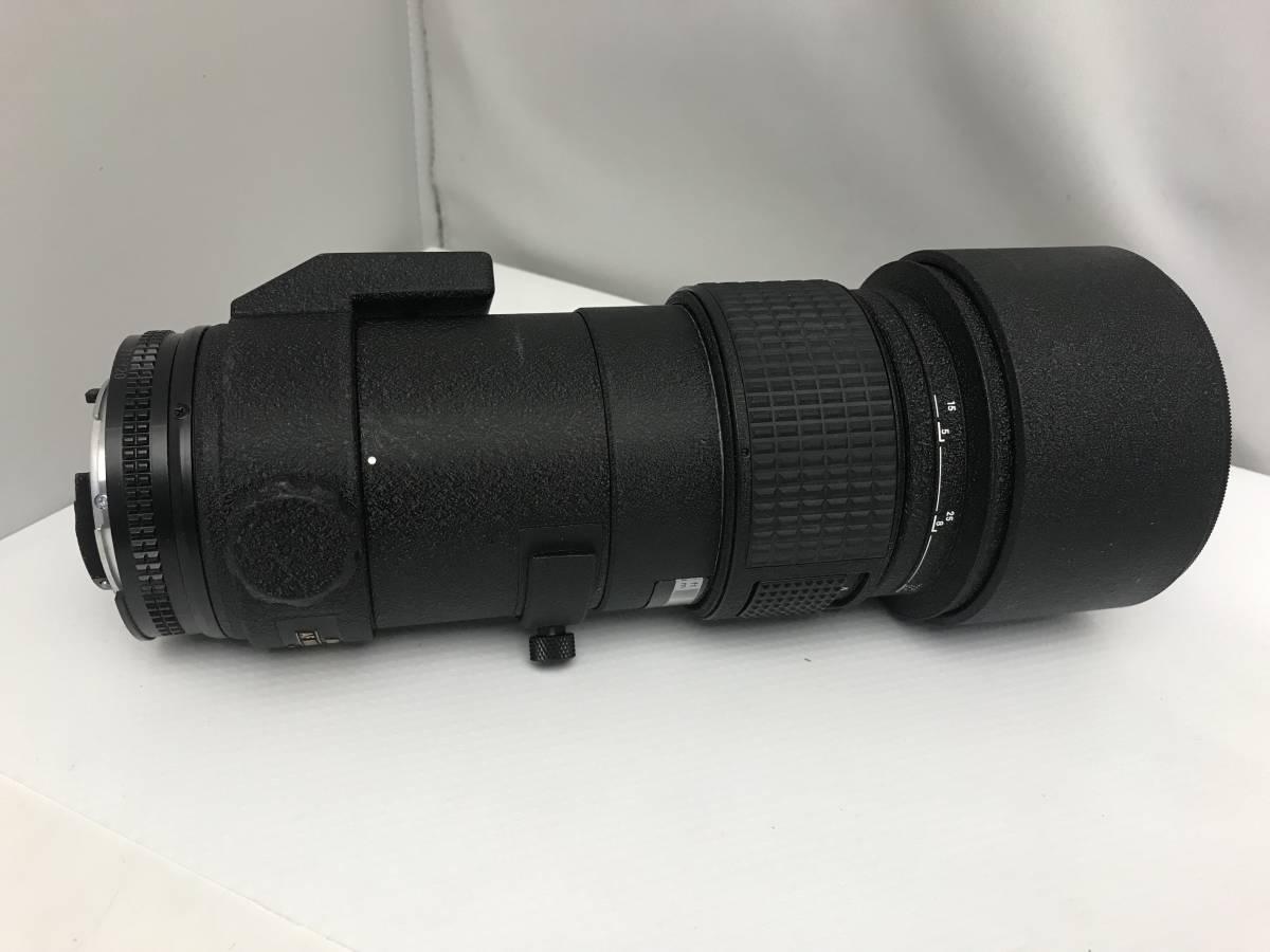 ジャンク Nikon ニコン ED AF NIKKOR 300mm 1:4  一眼レフカメラ用_画像2