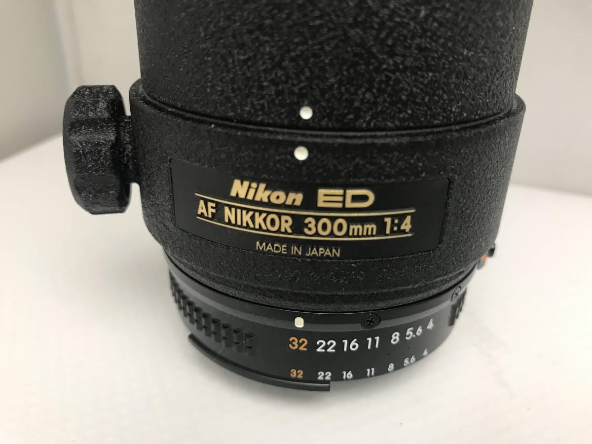 ジャンク Nikon ニコン ED AF NIKKOR 300mm 1:4  一眼レフカメラ用_画像4