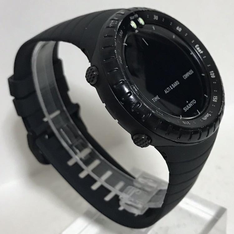 SUUNTO CORE ALL BLACK スント コア オールブラック 反転液晶 方位.高度.温度計 搭載 動作、センサー確認済 検)ベクター コア_画像6