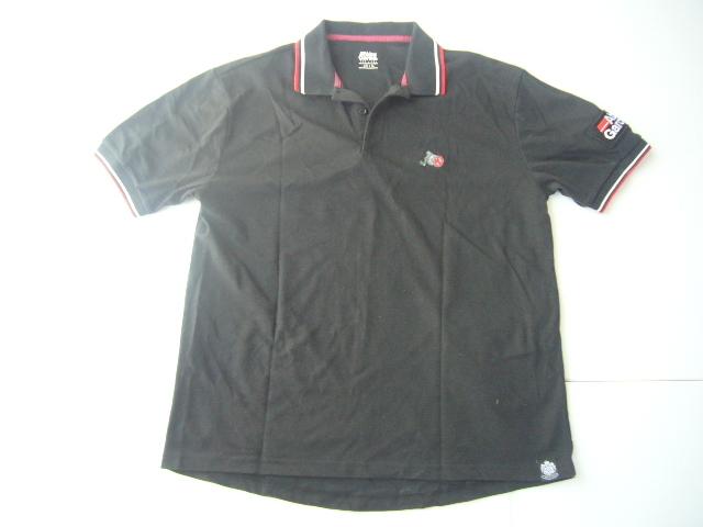 送料無料 一度着用のみ USED 美品 Abu Garcia アブ・ガルシア ポロシャツ サイズ:XL 色:ブラック
