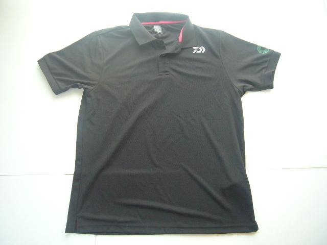 送料無料 未使用 DAIWA ダイワ ポロシャツ サイズ:XL 色:ブラック