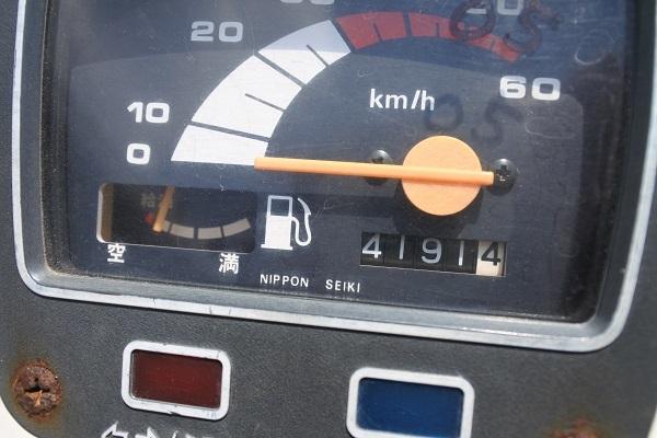 実働旧車!スズキ・ジェンマ50 灯火類・セル始動・ホーンOK! 仕上げ、カスタムベースに!! _画像7