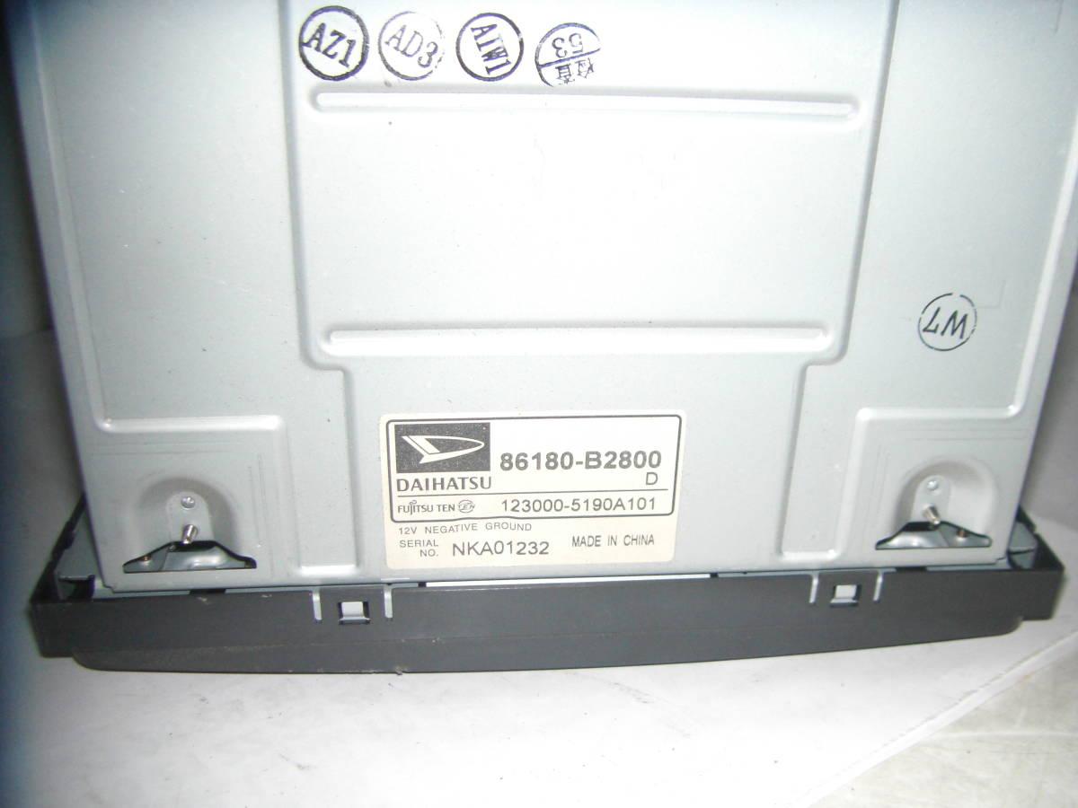 ダイハツ純正 カーオーディオ 86180-B2840 LA300S/LA310S ピクシスエポック/ミライース 3 _画像2