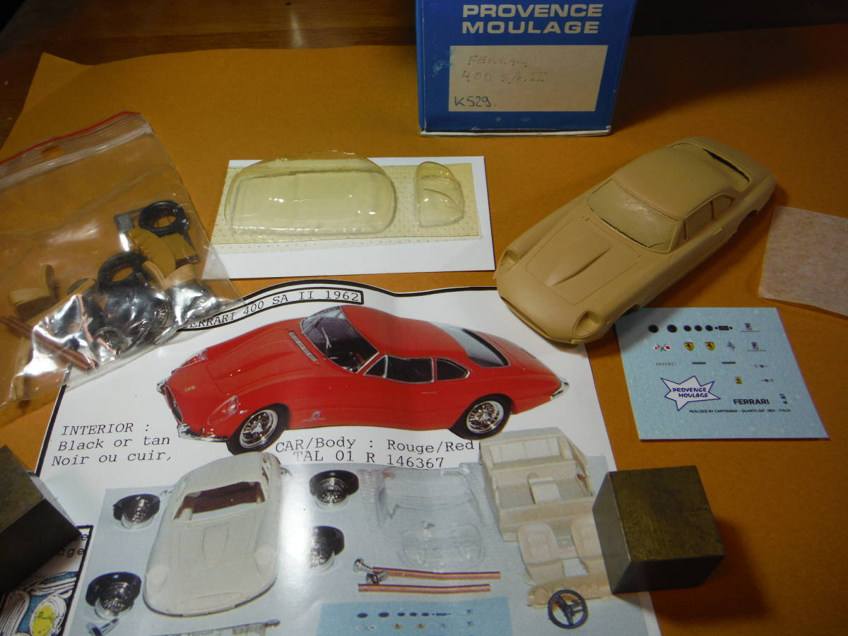 Pro Vance 1/43 kit Ferrari 400 SA II: Real Yahoo auction salling