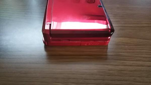 3DS ニンテンドー3DS フレアレッド 本体+AC充電器_画像4