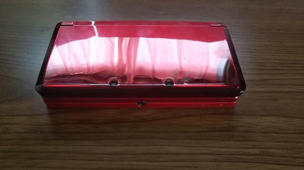 3DS ニンテンドー3DS フレアレッド 本体+AC充電器_画像3
