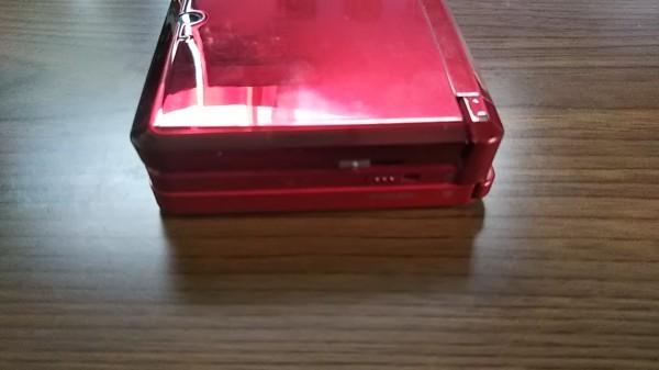 3DS ニンテンドー3DS フレアレッド 本体+AC充電器_画像6