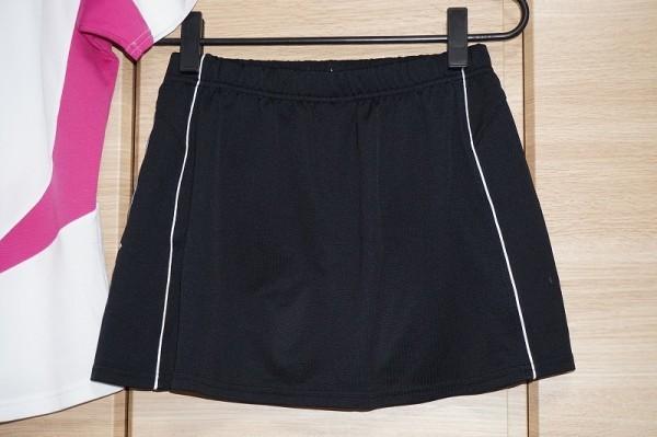 ミズノ レディース ゲームシャツ&スカート インナースパッツ付 上下セット サイズ【M・L】ベリーピンク×ホワイト ブラック MIZUNO_画像8
