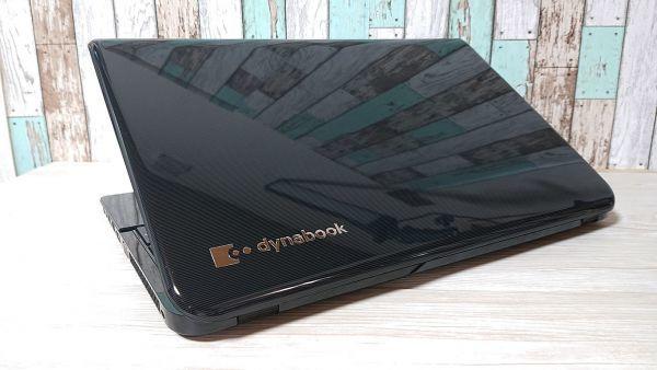 【爆速大容量SSD☆プレシャスブラック♪】Windows10☆東芝 T554/56LB☆Core i5-4200U☆新品SSD512GB/8GB/Blu-ray/Webcam/Bluetooth/USB3.0_画像3