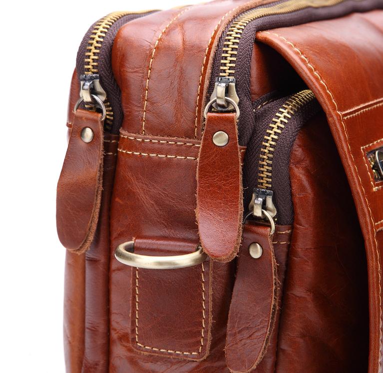 新品高品質【定価46.6万円】斜め掛手提げ ショルダーバッグブリーフケース書類鞄 A4 ビジネスバッグ大容量 上質牛革_画像7