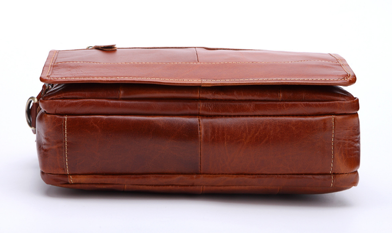 新品高品質【定価46.6万円】斜め掛手提げ ショルダーバッグブリーフケース書類鞄 A4 ビジネスバッグ大容量 上質牛革_画像6