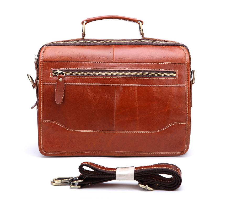 新品高品質【定価46.6万円】斜め掛手提げ ショルダーバッグブリーフケース書類鞄 A4 ビジネスバッグ大容量 上質牛革_画像3