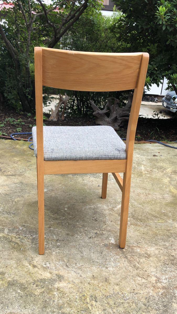 ダイニングチェア 椅子 イス 2脚セット 引取歓迎_画像4