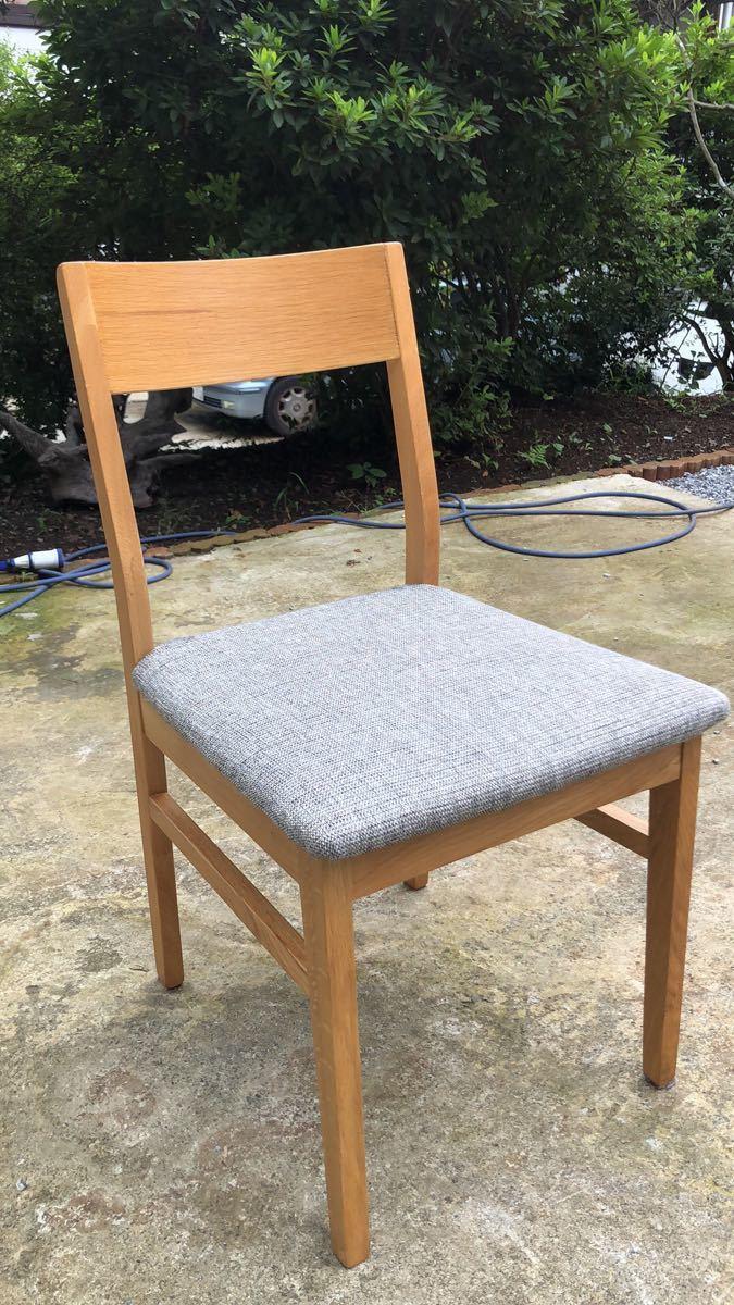 ダイニングチェア 椅子 イス 2脚セット 引取歓迎_画像5