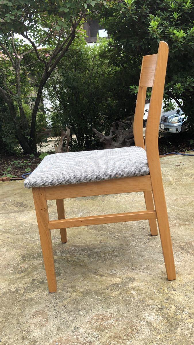 ダイニングチェア 椅子 イス 2脚セット 引取歓迎_画像3