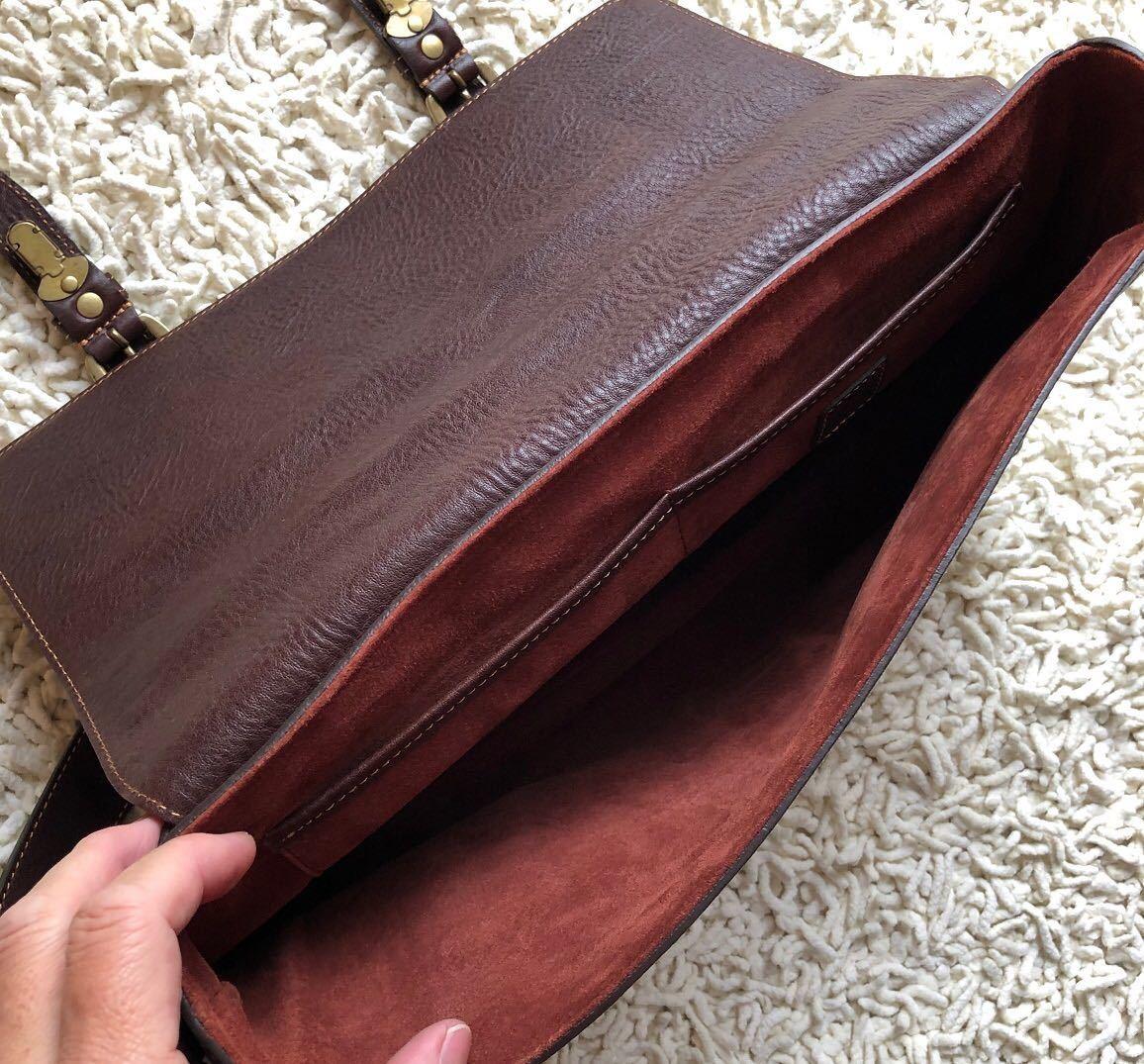 土屋鞄 レトロクラッシック カレッジバッグ_画像4