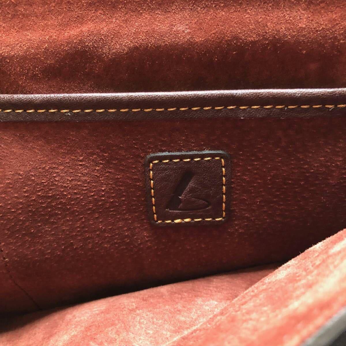 土屋鞄 レトロクラッシック カレッジバッグ_画像8
