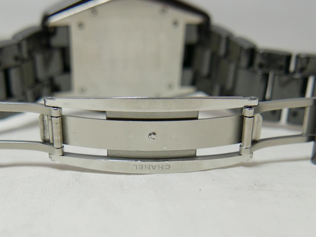 美品 シャネルJ12 ラージダイヤモンド 38mm_画像5