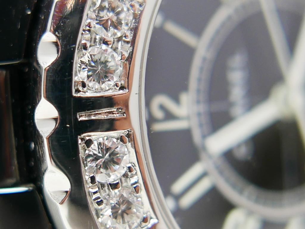 美品 シャネルJ12 ラージダイヤモンド 38mm_画像9