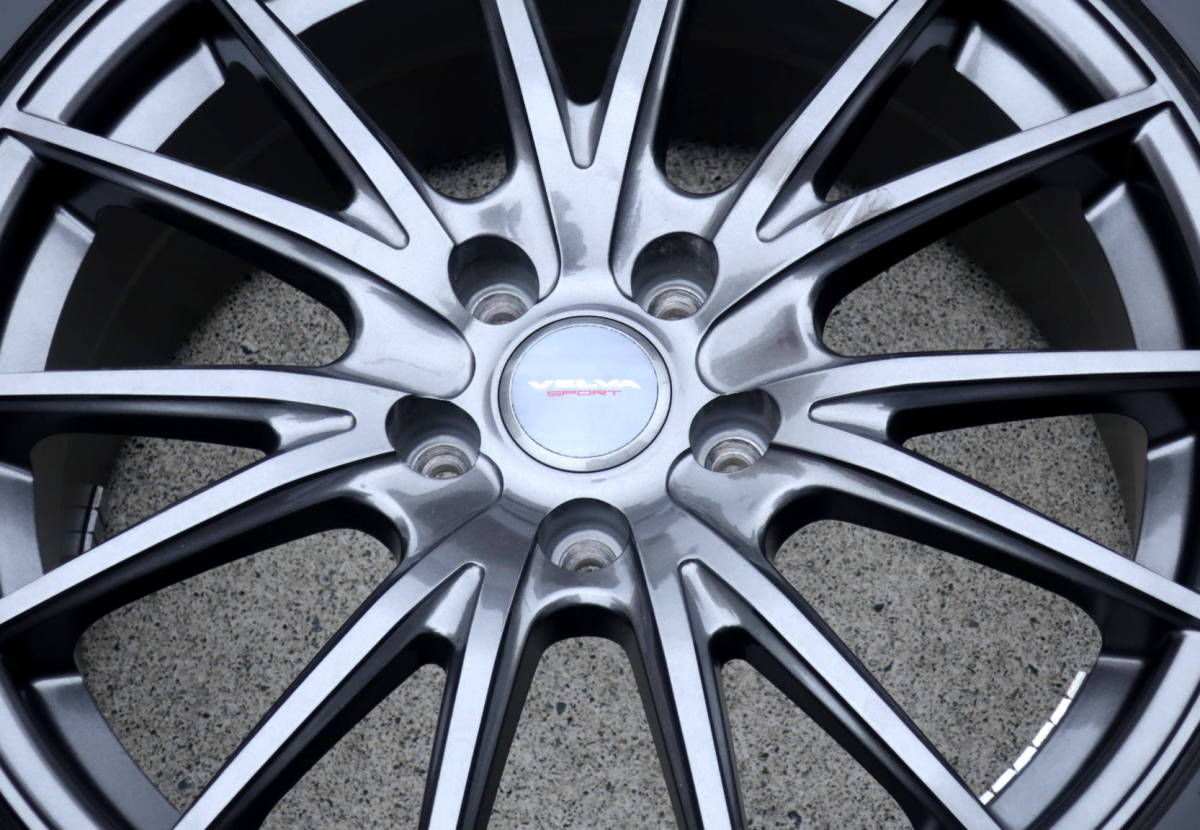 VELVA 軽量ホイル+BLIZZAK VRX 245/50R18 スタッドレス タイヤ 4本 アルファード ヴェルファイア エルグランド フーガ ハリアー CR-V CH-R_画像10