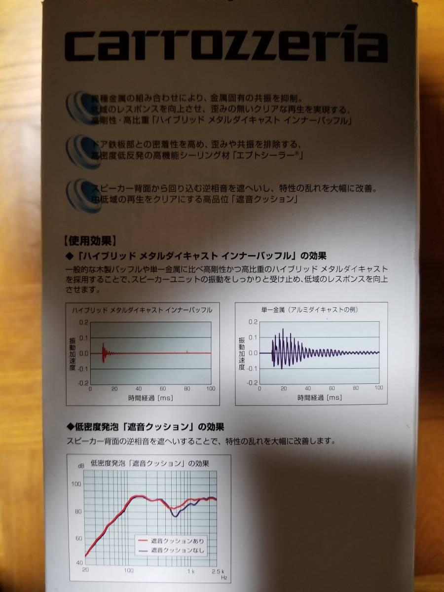 carrozzeria 17cm インナーバッフル UD-K618 トヨタ車用 新品未使用品です!!!_画像4