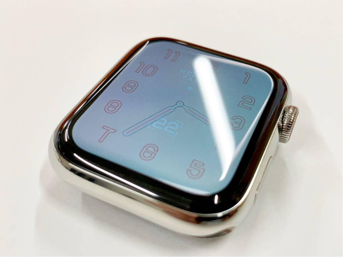 【即決美品】 Apple watch HERMES ミラネーゼループ Series4 44mm 純正 エルメス Cellular ステンレス Applewatch HERMS アップルウォッチ_画像7