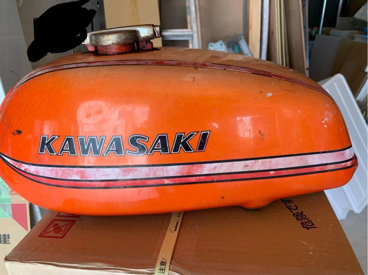 カワサキ 350ss タンク 250ss マッハ kh250 kh400