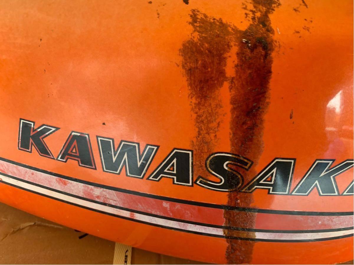 カワサキ 350ss タンク 250ss マッハ kh250 kh400 _画像4