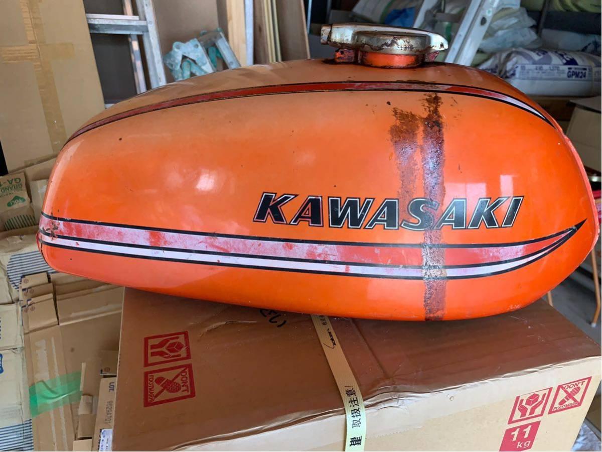 カワサキ 350ss タンク 250ss マッハ kh250 kh400 _画像3