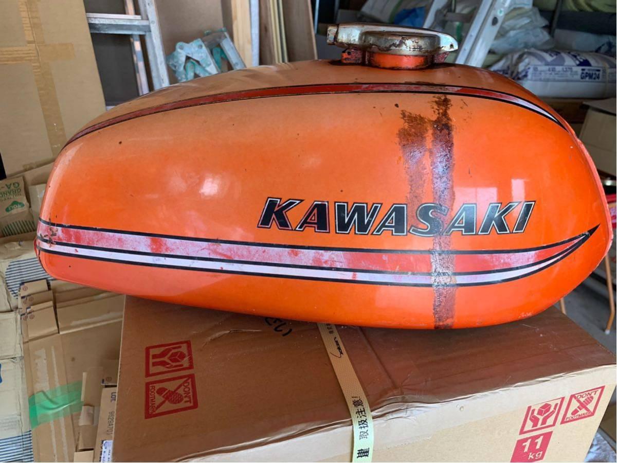 カワサキ 350ss タンク 250ss マッハ kh250 kh400 _画像2