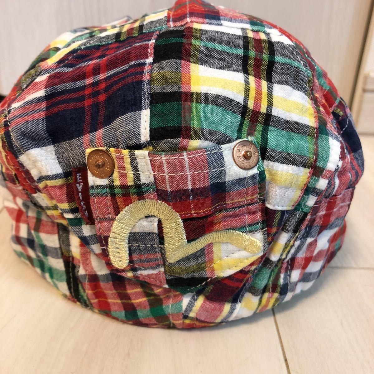 エヴィス EVISU ハンチング 帽子